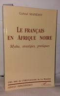 Le Français En Afrique Noire - Unclassified