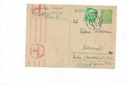 Karte Aus Wien Nach Ungarn 1941 - Briefe U. Dokumente