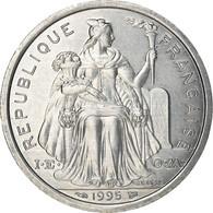 Monnaie, French Polynesia, 2 Francs, 1995, Paris, SUP, Aluminium, KM:10 - French Polynesia