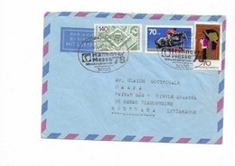 Brief Aus Hannover Nach Botswana 1978 - Covers & Documents