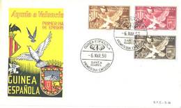 Spain:Guinea FDC, Birds, 6.06.1958 - Guinea Espagnole