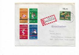 Brief Aus Cuxhaven 1972 - Covers & Documents
