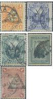 Ref. 655032 * USED * - PERU. 1883. PERU Y EL SOL, SOBRECARGA TRIANGULAR - Peru