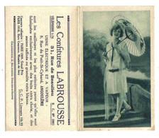 Calendrier De Poche - Confitures LABROUSSE - 1932 - Format 6 / 9,50 - Small : 1921-40