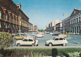 BARI-CORSO VITTORIO EMANUELE-AUTO CAR VOITURES-=CITROEN DYANE=-CARTOLINA VERA FOTOGRAFIA- VIAGGIATA IL 21-8-1975 - Bari