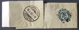 """France N°111 Sur Bande Journal Privée """"LE SIECLE"""" Pour LA CHAUX DE FONDS, Suisse 31.1.1902 - (C1275) - 1877-1920: Periodo Semi Moderno"""