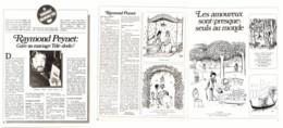 "Reportage  "" RAYMOND PEYNET ""  1973  ( 10  ) - Other"