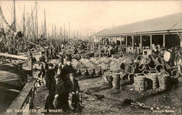 Great Britain - Gt Yarmouth - Fish Wharf - 1915 - Unclassified