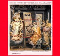 ITALIA - Usato - 2011 - 5º Centenario Della Nascita Di Giorgio Vasari - San Luca Dipinge La Vergine - 1,40 - Blocks & Sheetlets