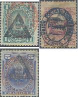 Ref. 655037 * USED * - PERU. 1883. PERU Y EL SOL, SOBRECARGA TRIANGULAR, SOBRECARGA LIMA - Peru
