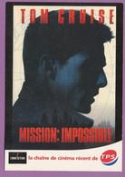 Affiche Du Film MISSION IMPOSSIBLE - Tom CRUISE - Emmanuelle Béart - Cinéstar - Posters On Cards
