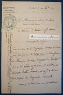 L.A.S 1848 Charles CUNAT Adjoint Maire SAINT MALO - François Joachim Duport Du Tertre - Abbé Manet - Lettre Autographe - Autographs
