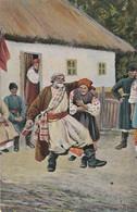 Russie - Types De La Petite Russie - Homme Ivre - Non écrite - Russia