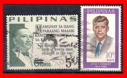 FILIPINAS.-  PHILIPPINES.- SELLOS AÑO 1965 PRESIDENTE  SAYINGS - Philippines