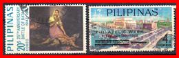 FILIPINAS.-  PHILIPPINES.- SELLOS AÑO 1967 EL 25 ANIVERSARIO DE LA BATALLA DE BATAAN - Philippines