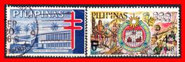 FILIPINAS.-  PHILIPPINES.- SELLOS AÑO 1965 RECARGADO - Philippines