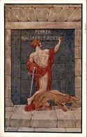 Italië Italy Italia - Ferrea Non Caedit Porta - 1915 - Unclassified
