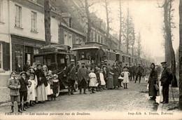 Frankrijk France - Frevent - Autobus - Doullens - 1915 - Non Classificati