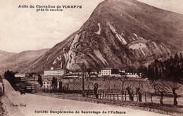 38-ASILE DU CHEVALLON DE VOREPPE PRES DE GRENOBLE SOCIETE DAUPHINOISE DE SAUVETAGE DE L'ENFANC--ANIMEE - Voreppe