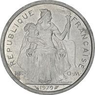 Monnaie, French Polynesia, 2 Francs, 1979, Paris, SPL, Aluminium, KM:10 - French Polynesia