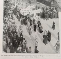 1927 LES ÉVÈNEMENTS DE CHINE - L'INSTITUT PASTEUR À KINDIA ( GUINÉE FRANÇAISE ) ET À PARIS - MOULINS ( Allier ) - RUGBY - 1900 - 1949