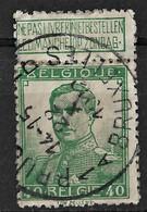 Belgium 1912 40C Michel 95/Scott 98. Used - 1912 Pellens