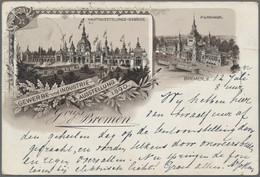 Heimat: Bremen: 1820/1990 (ca.), Umfassende Sammlung Mit Einigen Tausend Belegen, Alles In Guter Vie - Bremen