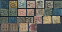 Braunschweig - Marken Und Briefe: 1852/1865, Lot Von 25 Marken, Dabei Bessere Werte Ab MiNr. 2, 3 (2 - Brunswick