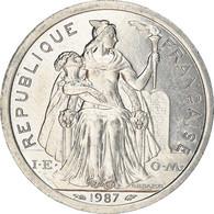 Monnaie, Nouvelle-Calédonie, 2 Francs, 1987, Paris, SPL, Aluminium, KM:14 - New Caledonia