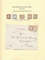 Deutsche Post In Der Türkei - Vorläufer: 1871/1907, Vor- Und Mitläufer, Sauber Gestempelte Sammlung - Ufficio: Turchia