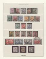 Deutsche Post In Der Türkei: 1884 Ab Ca., Nach Hauptnummern Gesteckte, Gestempelte Marken Im Album, - Ufficio: Turchia