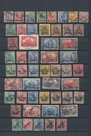Deutsche Post In Der Türkei: 1884/1908, Saubere Gestempelte Sammlung Auf Steckseite, Dabei U.a. MiNr - Ufficio: Turchia