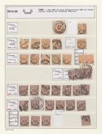 Deutsche Post In Der Türkei: 1884/1913, Umfangreiche, Stark Spezialisierte Sammlung Auf Albenblätter - Ufficio: Turchia
