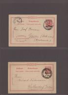 Deutsche Post In Der Türkei: 1895-1910 (ca), Sehr Schöne Zusammenstellung Von 48 Briefen, Karten Und - Ufficio: Turchia