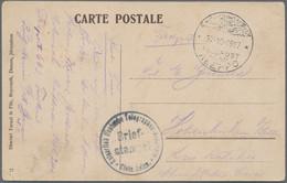 Deutsche Post In Der Türkei: 1898/1917, Partie Von 18 Briefen Und Karten, Dabei Auch Gebrauchte Ganz - Ufficio: Turchia