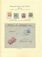 Deutsche Post In Der Türkei - Stempel: 1885/1912, Außergewöhnlich Schöne Stempel-Spezialsammlung Auf - Ufficio: Turchia