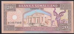 Ref. 3322-3745 - BIN SOMALILAND . 1994. SOMALILAND 20 SHILLINGS 1994 - Somalia