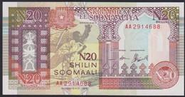 Ref. 3318-3741 - BIN SOMALIA . 1991. SOMALIA N 20 SHILIN 1991 - Somalia