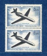 ⭐ France - Variété - YT PA N° 40 - Poste Aérienne - Couleurs - Pétouilles - Neuf Sans Charnière - 1960 ⭐ - Varieties: 1960-69 Mint/hinged
