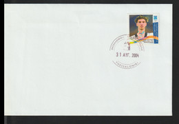 Greece FDC 2004 Athens Olympic Games - Gold Medal Winner (DD30-42) - Summer 2004: Athens