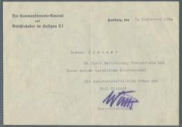 Autographen: GÖRING Usw., 1914-1944, Partie Mit Dokumenten Des Oberstleutnant Paul Krause, Darunter - Autographs