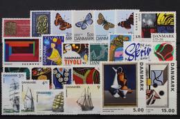 Dänemark, MiNr. 1046-1069, Jahrgang 1993, Postfrisch / MNH - Unclassified