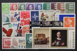 Dänemark, MiNr. 934-962, Jahrgang 1989, Postfrisch / MNH - Unclassified
