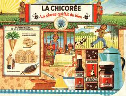 Petit Calendrier   1986   Chicorée LEROUX   La Plante Qui Fait Du Bien - Small : 1981-90