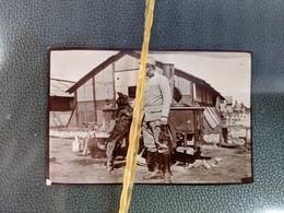 REF Pierre BARBIER 9 X 6 GUERRE 14-18 MILITAIRE HANS MARS 1915 CHIEN DE GUERRE - Guerra, Militares