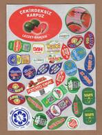 AC - FRUIT LABELS Fruit Label - STICKERS LOT #119 - Fruits & Vegetables