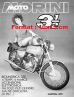 Reproduction Photographie Publicité Ancienne Moto Morini 3 1/2 - Reproductions