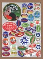 AC - FRUIT LABELS Fruit Label - STICKERS LOT #121 - Fruits & Vegetables