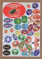 AC - FRUIT LABELS Fruit Label - STICKERS LOT #126 - Fruits & Vegetables