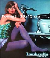 Reproduction Photographie Publicité Ancienne Pour Le Scooter Lambretta Innocenti - Reproductions